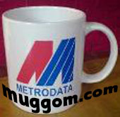 sampel mug milik PT METRODATA Tbk