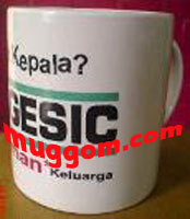 sampel gelas mug obat BIOGESIC