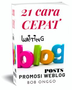 cara promosi iklan SEO WEB BLOG